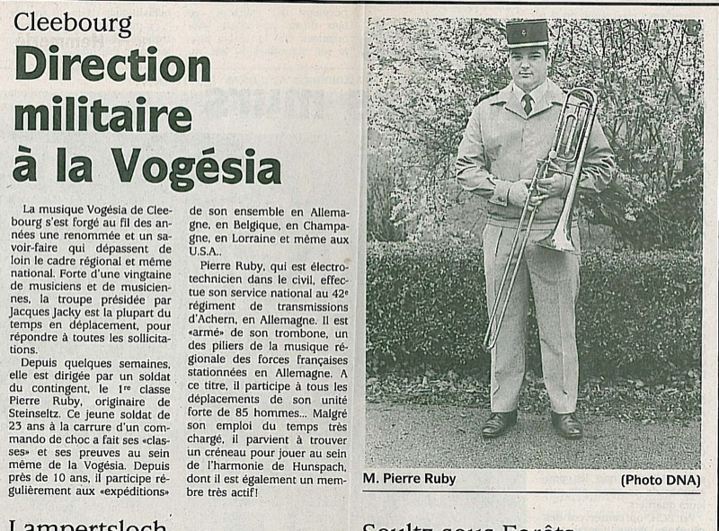 Archives Vogesia Cleebourg